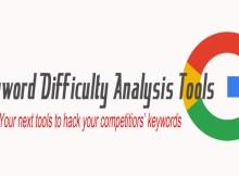 Keyword difficulty tools