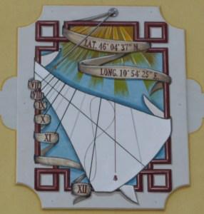 Orologio solare in San Lorenzo Banale (TN)