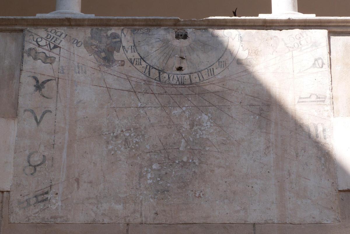 Orologio Solare - Castello di Thun (TN)