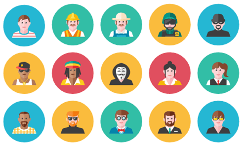 Articulate Rapid E-learning Blog - free people icons example 1