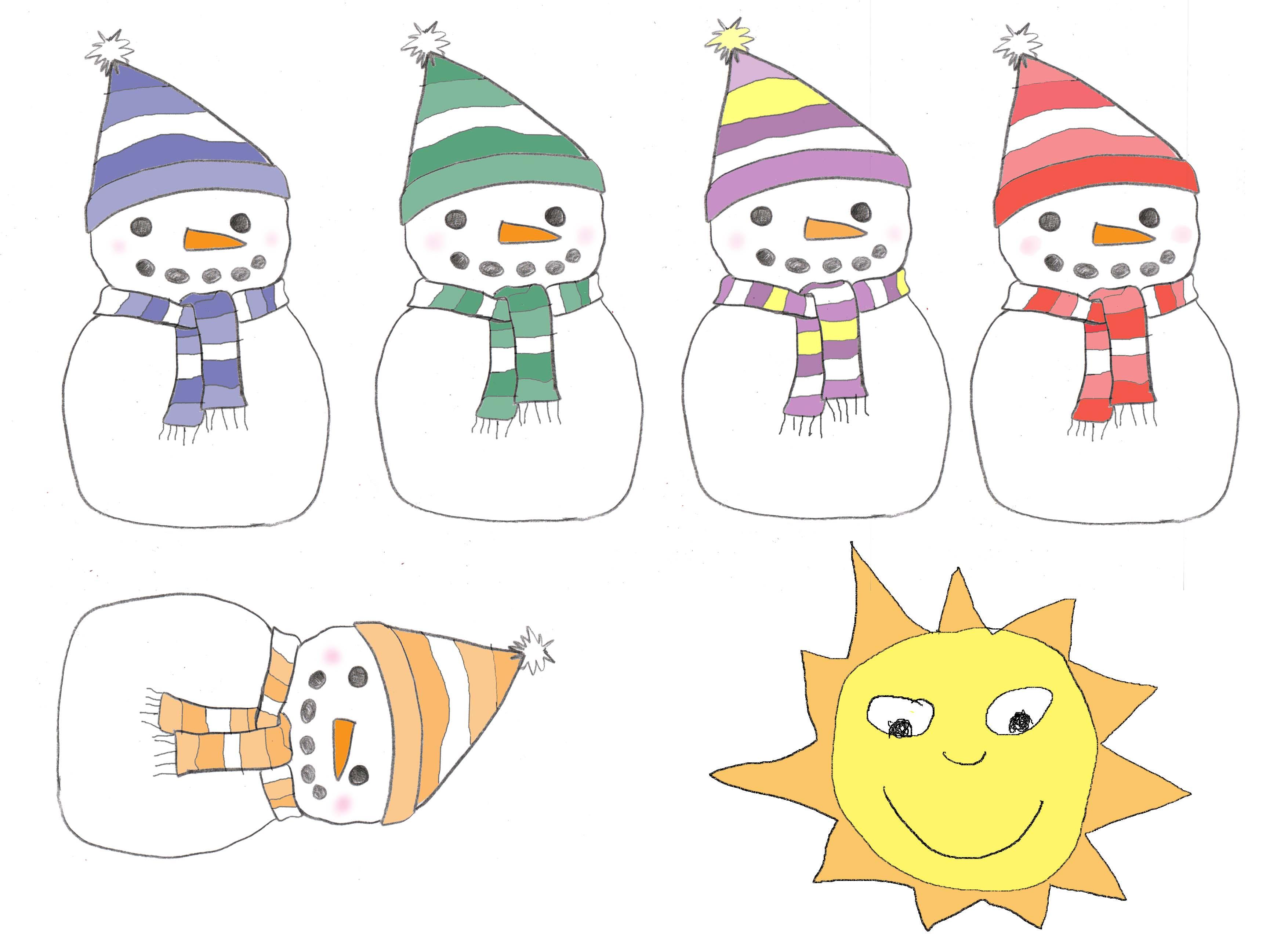 Search Results For Five Little Snowmen Poem Calendar