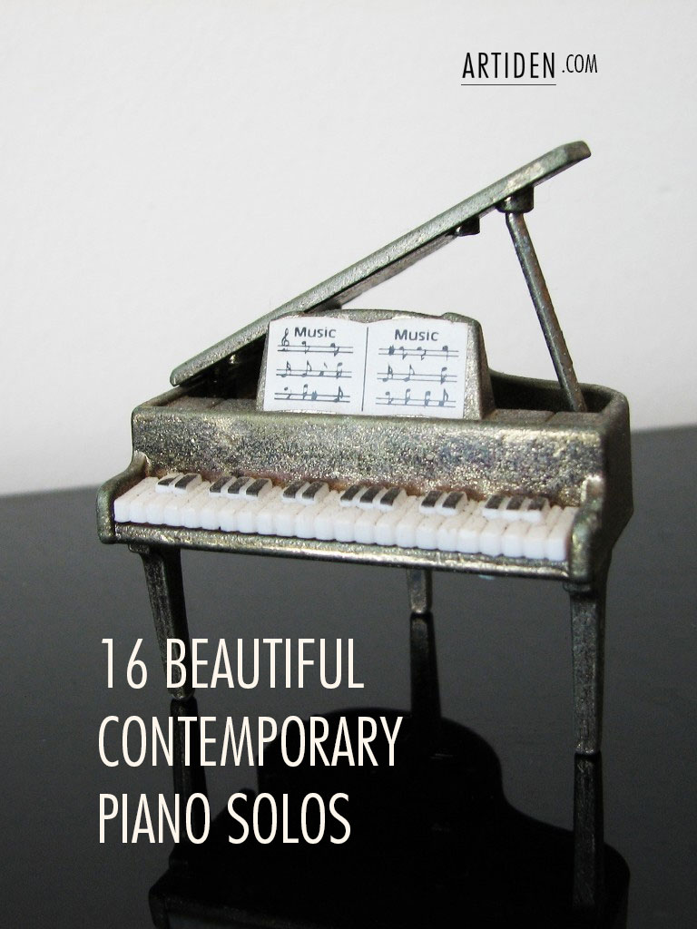 16 Beautiful Contemporary Piano Solos