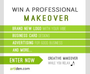 Win a Professional Makeover: New Logo, Business Card Designs, & More...