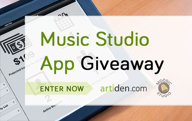 Music Studio Management App Giveaway via Artiden