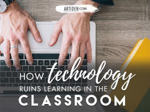 How technology ruins learning in the music studio