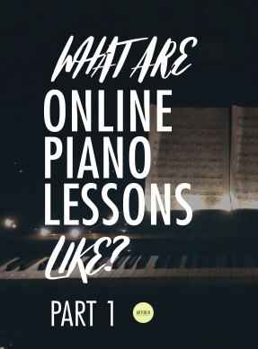What are online piano lessons like?