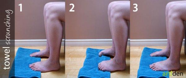 Towel Scrunching Exercise