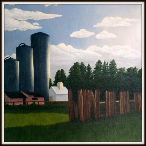 First Place Winner - Hannah Seberg - Barn with Three Silos