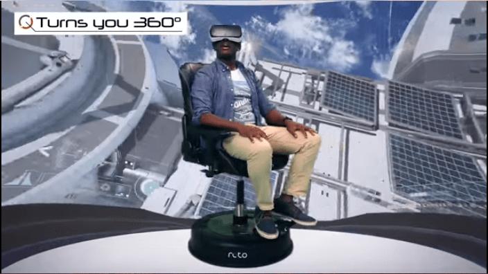 """VR連動シートでさらなる没入体験へ!""""Roto VR Chair"""""""