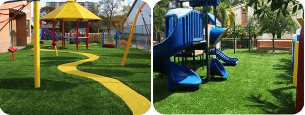 Artificial Grass Playground Malaysia | Safe For Your Kids
