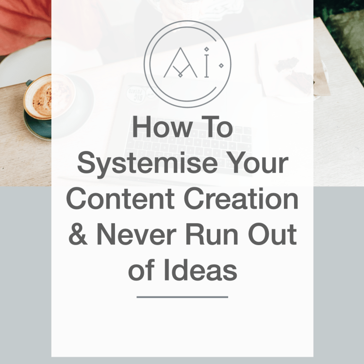 How to systemise your content