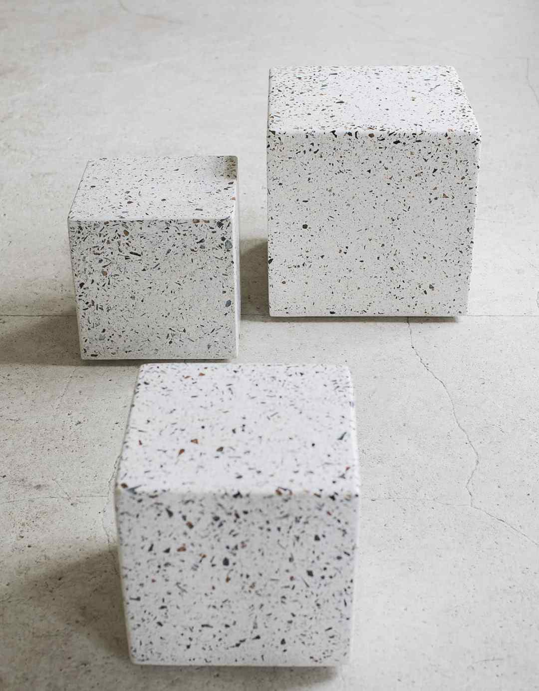 table d'appoint terrazzo