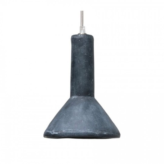 Lampe Suspension Béton Noir