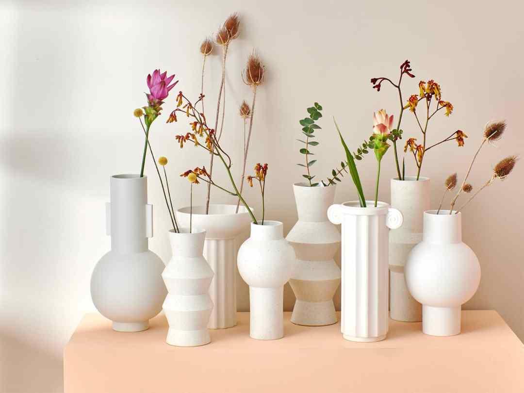Vase en Argile Moucheté