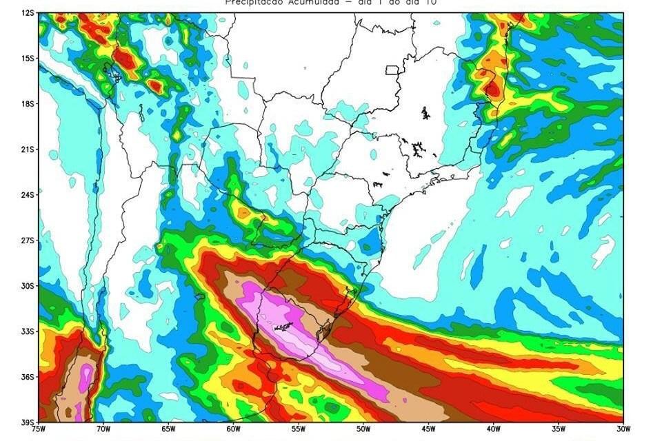 Metsul pronostica,lluvia,viento y granizo para las próximas horas