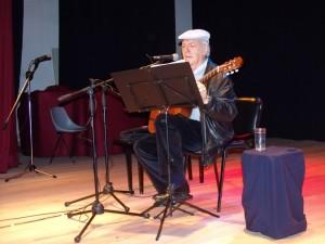 Falleció el cantautor Daniel Viglietti,en 2012 había  realizado un concierto en Artigas