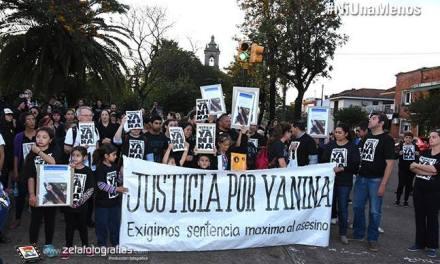 Madre de Yanina Portela organiza marcha al cumplirse un mes del femicidio de su hija