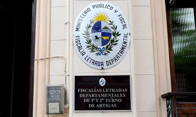 Fiscal a cargo del caso de presuntas irregularidades en la Jefatura de Policía de Artigas,denunció en Actas presiones a la Señora Jueza