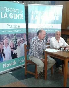 Edgardo Novick explicó en Artigas la propuesta de elegir candidato a intendente mediante consultoras