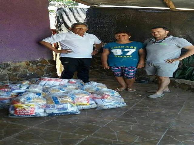 Rotary donó 200 kilos de alimentos al Comedor de Ana