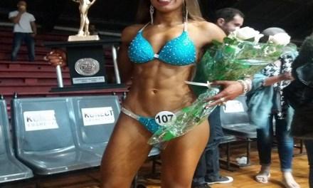 Hermosa artiguense se consagró campeona nacional juvenil de fisicoculturismo y fitness