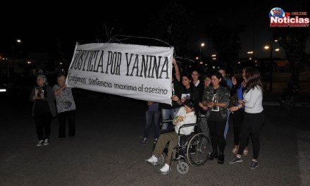 Familiares y amigos de Yanina Portela la recordaron al cumplirse un mes de su muerte