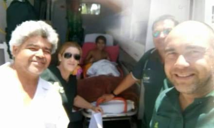 Desde este viernes,Hernan,el niño que sufriera el disparo de arma de fuego está en Artigas