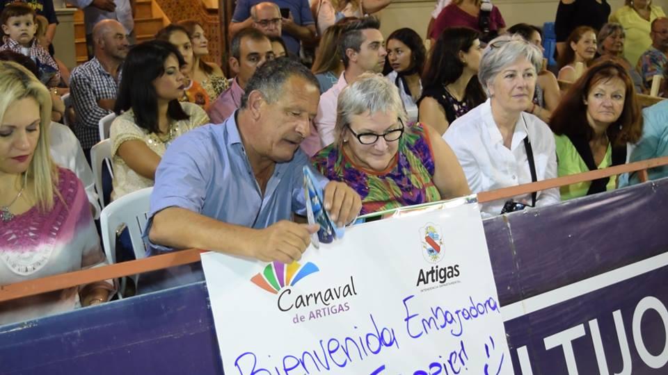 EMBAJADORA DE CANADÁ,DISFRUTÓ DE NUESTRO CARNAVAL