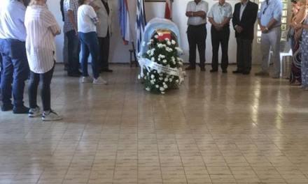 EL ÚLTIMO ADIÓS AL DR. RUBEN ESCAJAL EN LA DEPARTAMENTAL NACIONALISTA
