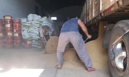 LLEGÓ EL PRIMER CAMIÓN CON AYUDA AGROPECUARIA A NUESTRO DEPARTAMENTO