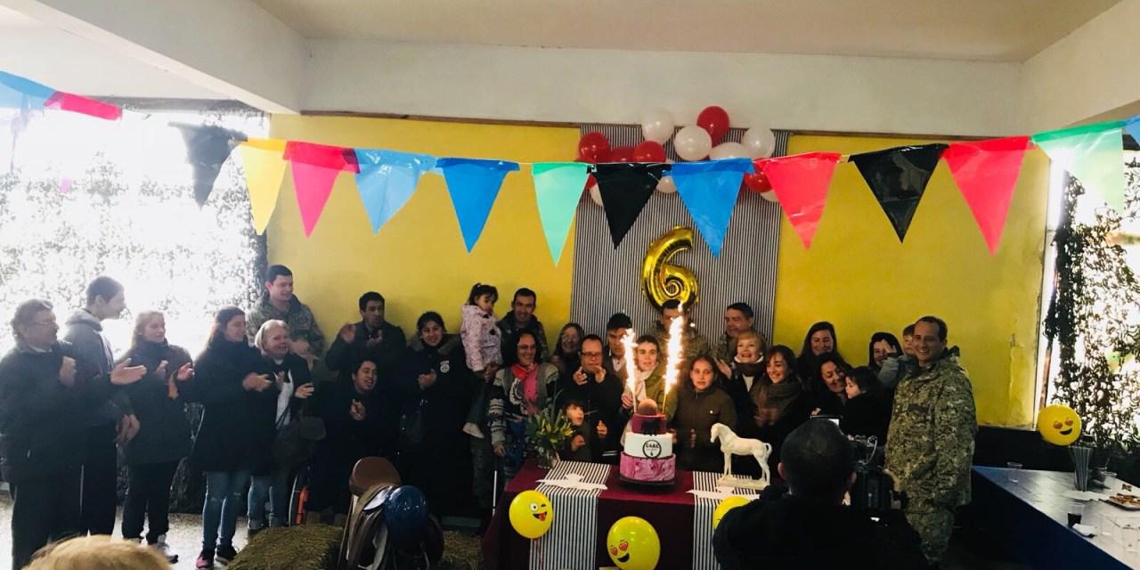 FINALIZARON LAS ACTIVIDADES EN LA SEMANA ARTIGUENSE DE LA EQUINOTERAPIA.