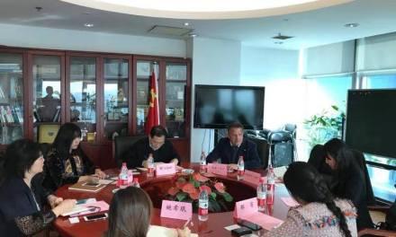 EXTENSA AGENDA DEL INTENDENTE CARAM EN CHINA