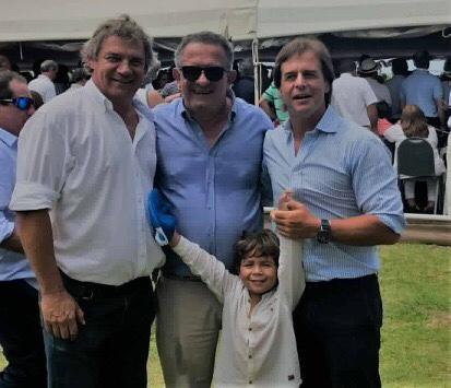 INTENDENTE CARAM Y PARTE DE SU EQUIPO DE GOBIERNO PARTICIPARON DEL LANZAMIENTO DE CAMPAÑA DE LACALLE POU EN LA PALOMA