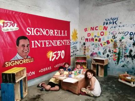 LOS NIÑOS TIENEN SU ESPACIO EN COMITÉ POLITICO ARTIGUENSE