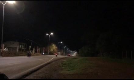 TERRIBLE CAÍDA DURANTE PICADA DE MOTOS