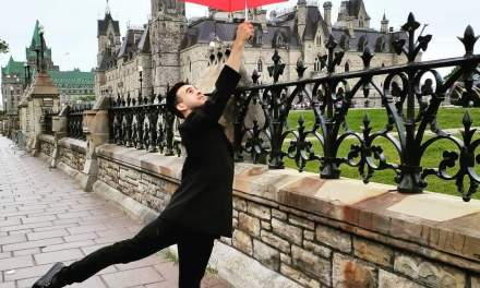 EL ARTIGUENSE «RICHY» CAMEJO TRIUNFÓ EN CANADÁ JUNTO A LA ESCUELA NACIONAL DE DANZA