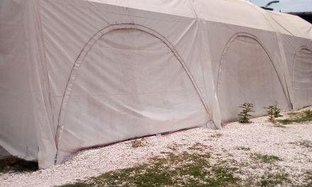 CECOED RECIBIÓ DOS CARPAS ESTRUCTURALES PARA DAMNIFICADOS EN SITUACIONES DE EMERGENCIA CLIMÁTICA