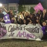 COLECTIVO FEMINISTA DE ARTIGAS ORGANIZA MARCHA PARA EL PRÓXIMO VIERNES