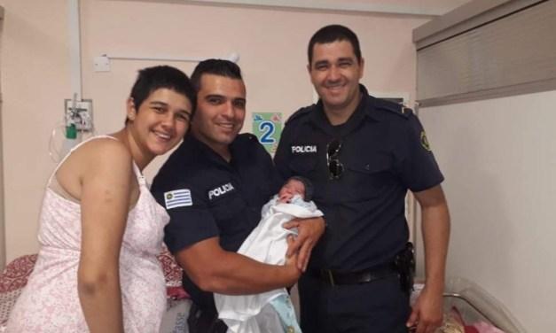 POLICIAS DE SECCIONAL PRIMERA ATENDIERON EL PARTO DE ORIANA EN BARRIO RAMPLA