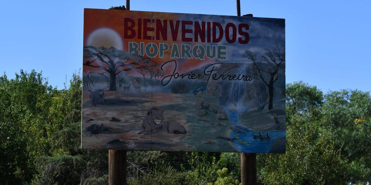 EL BIOPARQUE DE JAVIER FERREIRA CUENTA CON 210 ANIMALES DE 70 ESPECIES.