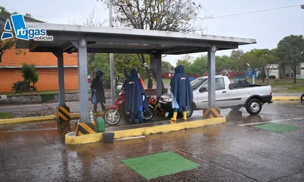 ANTE EL SEGUNDO CASO DE COVID -19 EN ARTIGAS NO SE PERMITE CRUZAR CON NIÑOS LA FRONTERA.