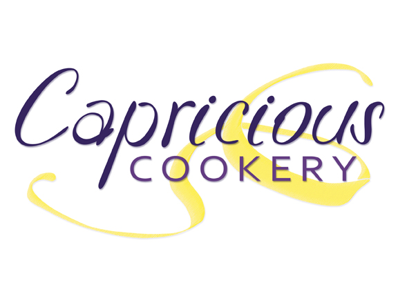 Capricious Cookery logo alternative recipes for people with allergies