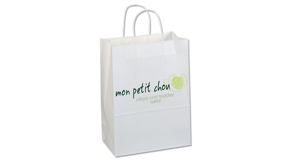 mon petit chou childrens wear shopping bag