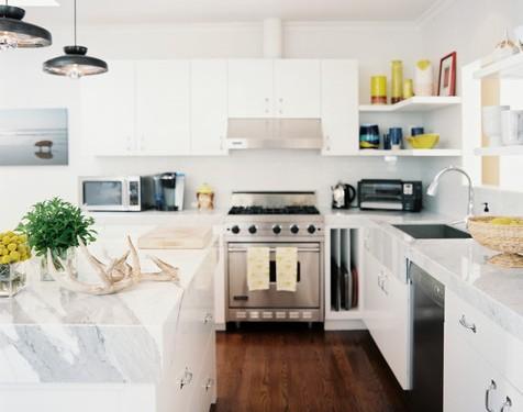 Mensole in cucina come e perch usarle  Artigianamente