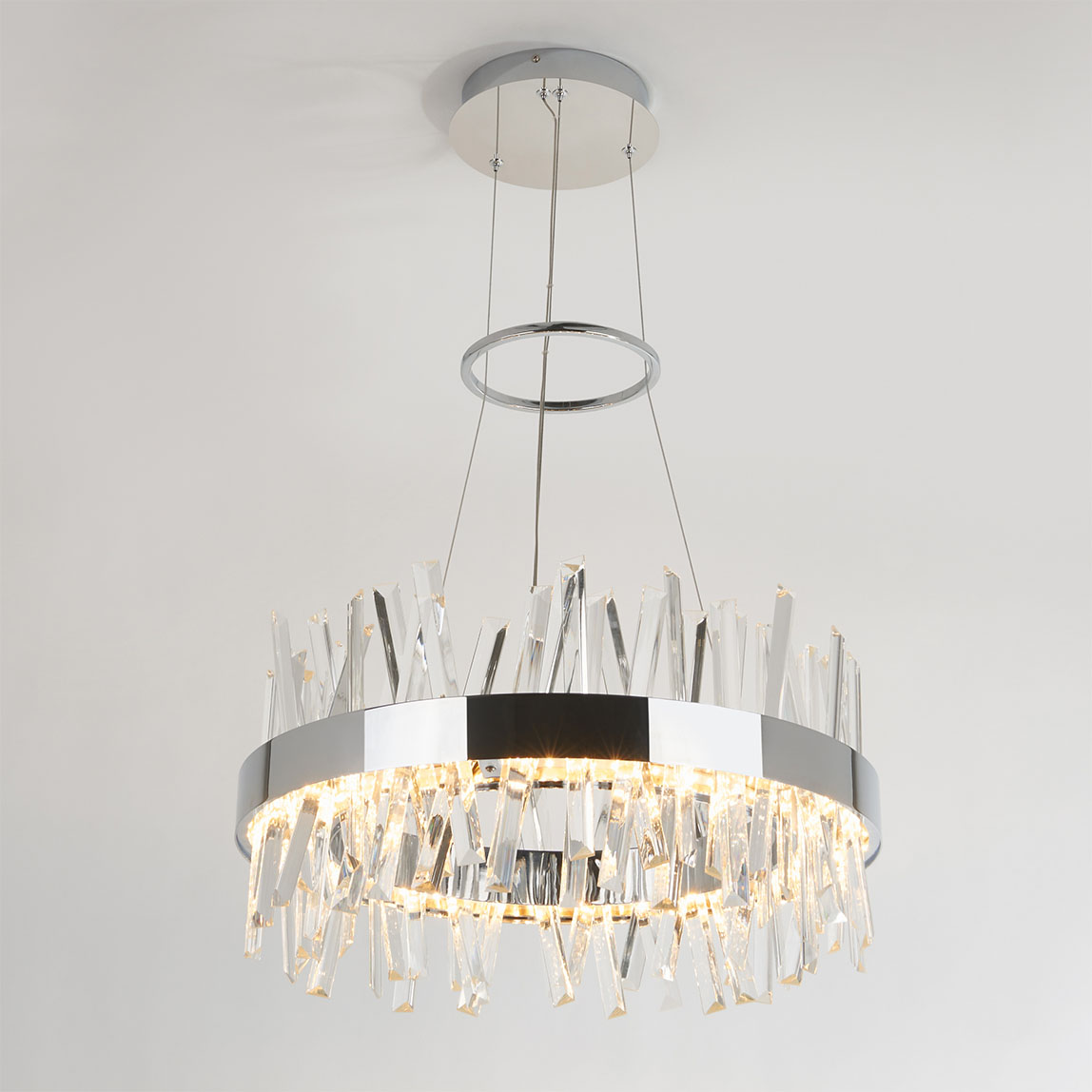 enchanted integrated led chandelier