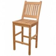 Ahşap bar sandalyesi