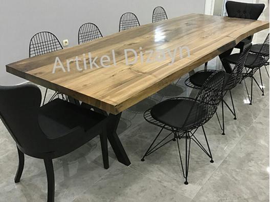 Ceviz toplantı masası