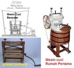 mesin cuci pertama