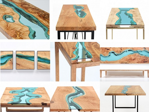 meja tema sungai