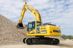 Hybrid Excavator Komatsu